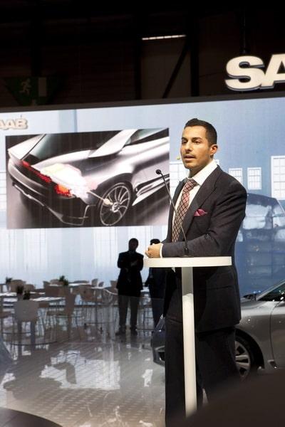 Mannen bakom Saab PhoeniX Concepts former - Jason Castriota.
