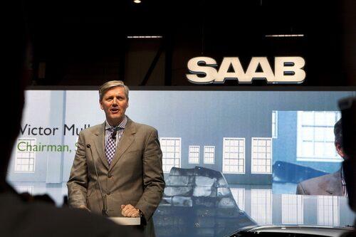 Victor Müller under avtäckningen av Phoenix Concept i Genéve 2011. Arkivbild.