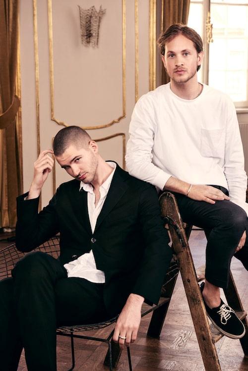 Fredrik Nathorst och Jacob Skragge.