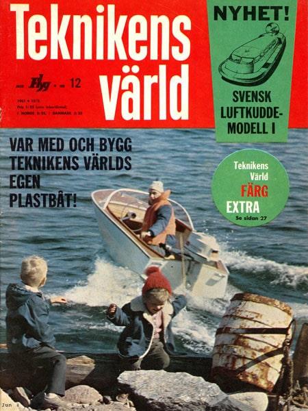 Teknikens Värld nummer 12 / 1961