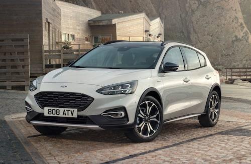 Nya Ford Focus i Active-utförande.