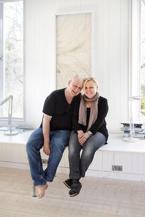 Gert och Karin Wingårdh har varit tillsammans i 25 år.