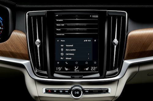 Volvo nu med Android Auto.