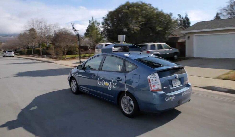 Prototyp av Googles självkörande bil