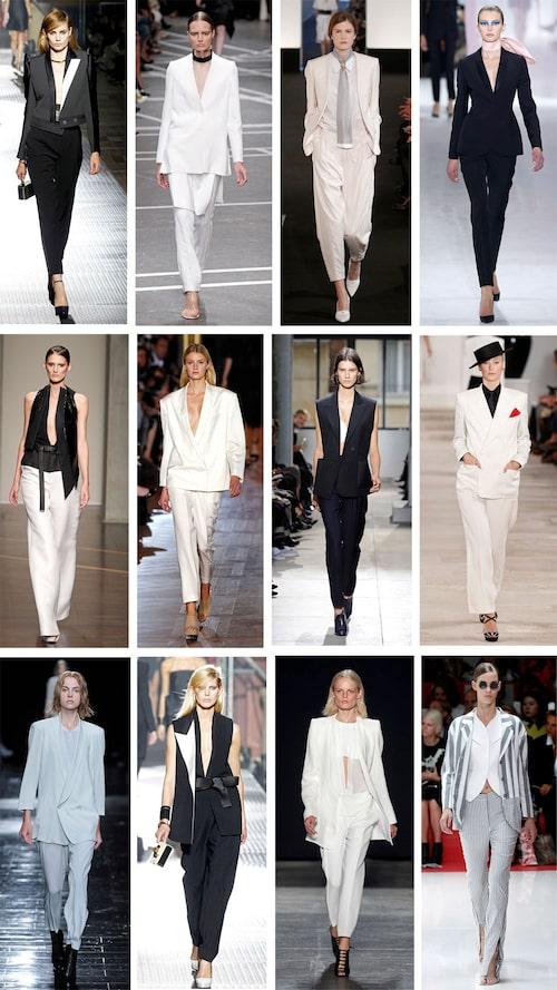 Lanvin, Givenchy, Hermès, Christian Dior Gianfranco Ferre, Stella McCartney, Balenciaga, Ralph Lauren Theory, Lanvin, Rodriguez, Acne