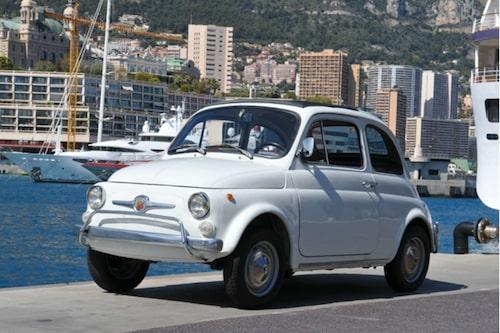Fiat 500 med Abarth-märken 1971