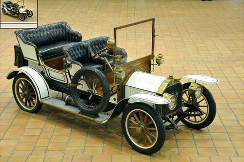 Berliet C2 Double-phaéton 1907