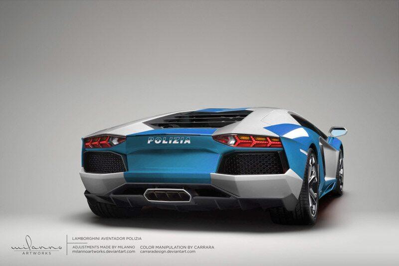 Lamborghini LP700-4 Aventador Polizia