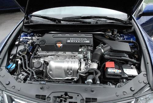 Motorerna överlag är soppasnåla.