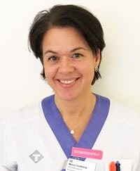 Maria Godberg, stomiterapeut.