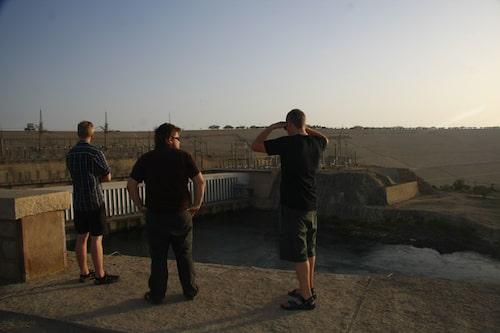 Stora dammen i Assuan.