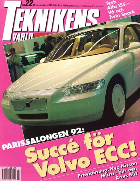 Teknikens Värld nummer 22 / 1992