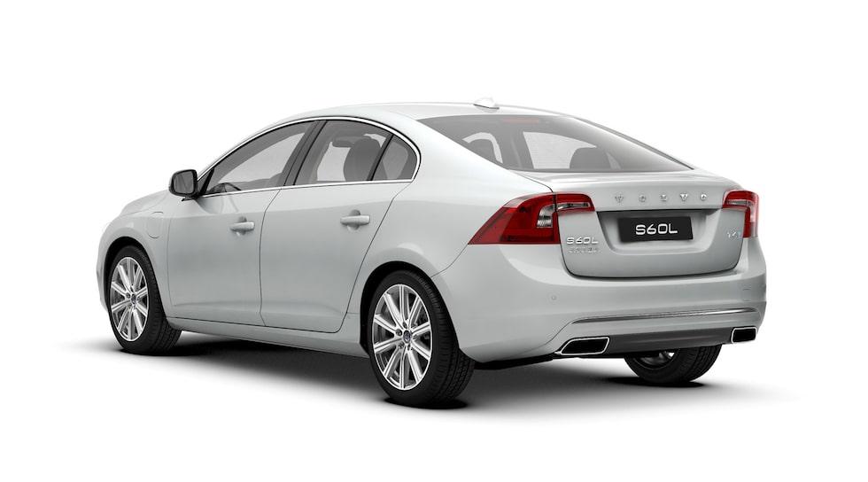 Volvo S60L är populär i Kina. Den säljs ingen annan stans.