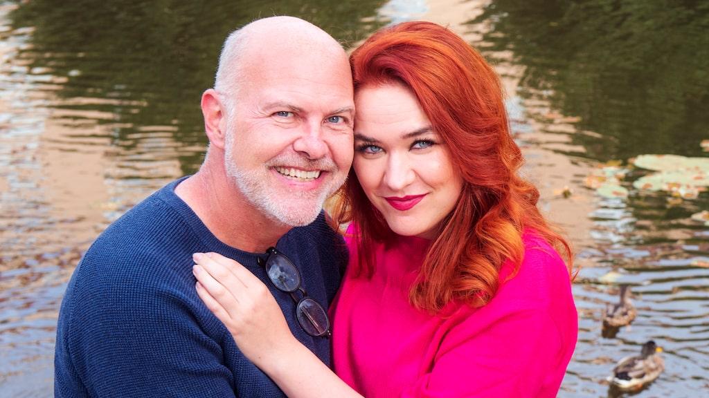 Camilla Sten och Mark Wright blev ett par när de hamnade i karantän tillsammans.