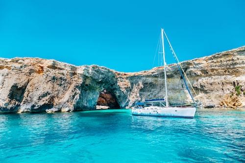 Maltas kristallklara vatten.