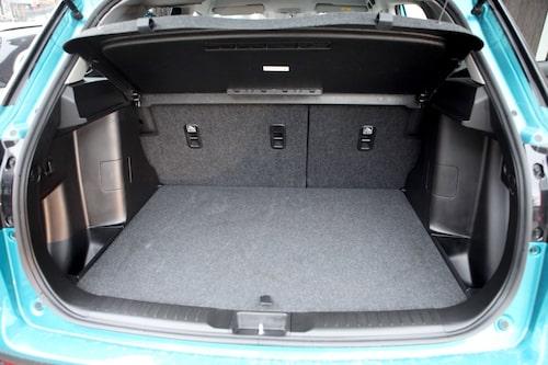 Rymligt bagage där man får plats med en hel del packning man kan behöva för ett skogsäventyr.