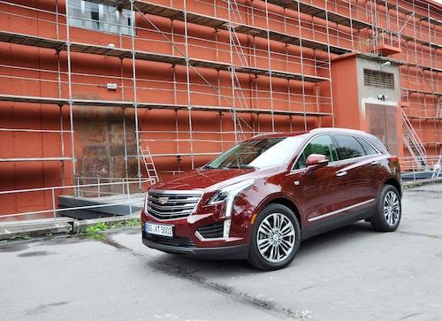 """Cadillac är i allt högre grad ett suv-märke. Nya XT5 kommer att bli """"storsäljaren"""" i Europa."""