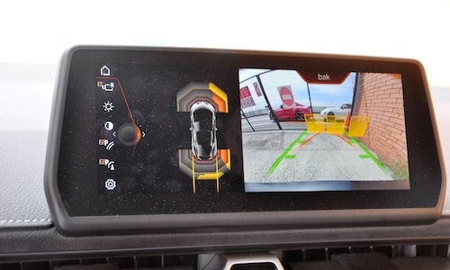 Infotainmentsystemet (som pratar svenska) är också en del av samarbetet med BMW-tyskarna.