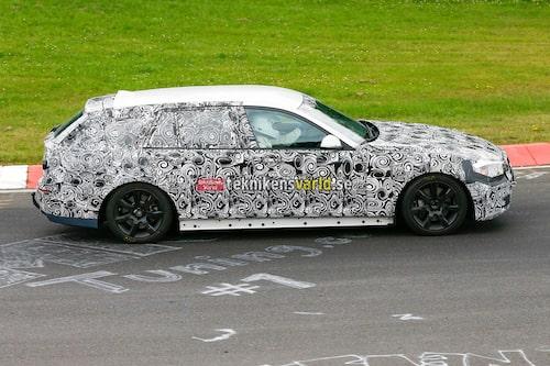 BMW 5-serie 2016 spionbild