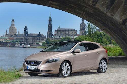 Plats 5: Volvo V40, 9 160 sålda exemplar.