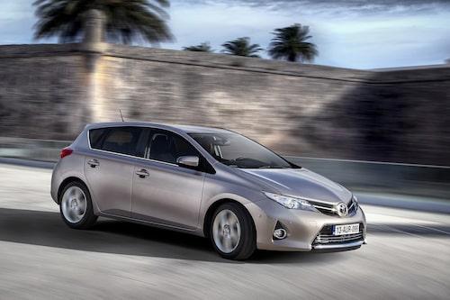 Plats 9: Toyota Auris, 5 141 sålda exemplar.