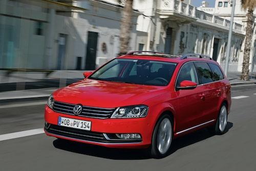 Plats 2: Volkswagen Passat, 14 331 sålda exemplar.