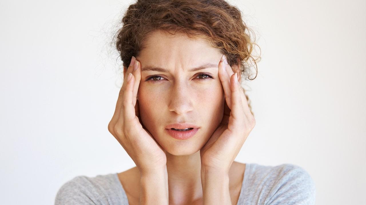 ihållande huvudvärk gravid