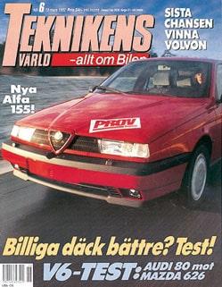Teknikens Värld nummer 6 / 1992