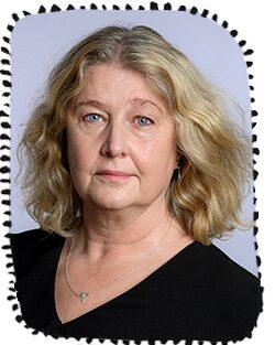 Eva Nordlund, ordförande i Svenska barnmorskeförbundet.