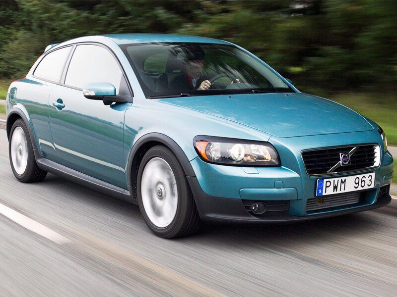 Provkörning av Volvo C30 T5