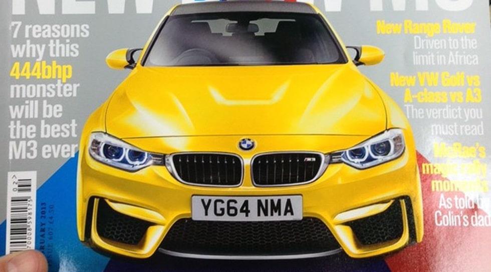 Nya BMW M3
