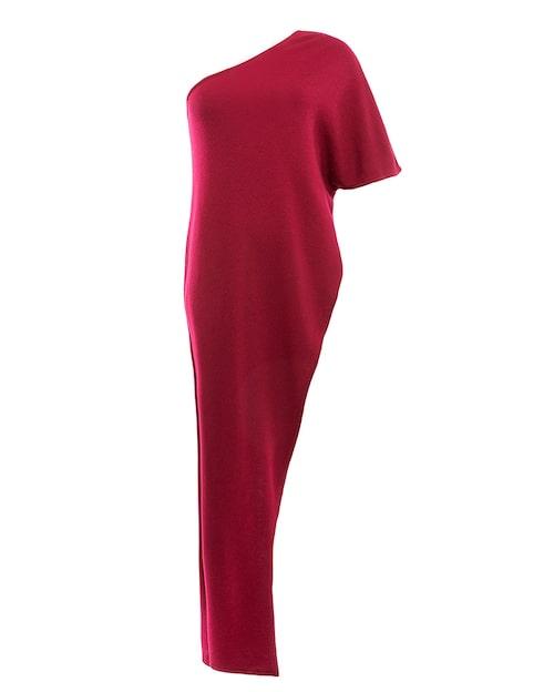 Klänning av mulesingfri merinoull.