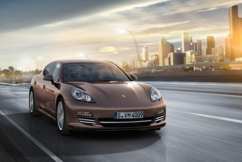 Porsche Panamera Platinum Edition