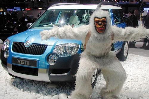 Snömannen från Genèvesalongen samma år klarar vi oss utan. Hu!