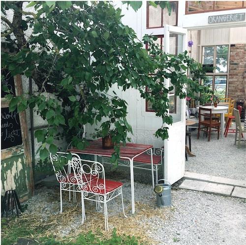 På mysiga Prima Gård på Gotland finns både mat och shopping.