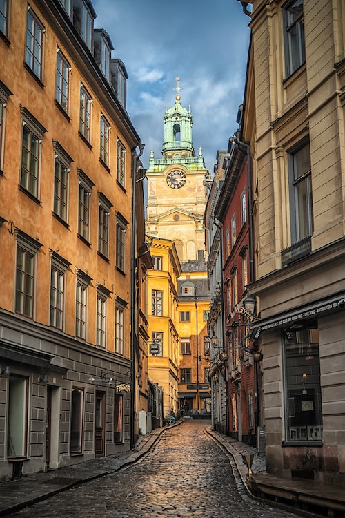 Stockholm är en Karin-favorit.