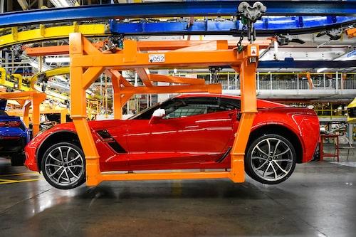 Gamla Chevrolet C7 är ännu i produktion.