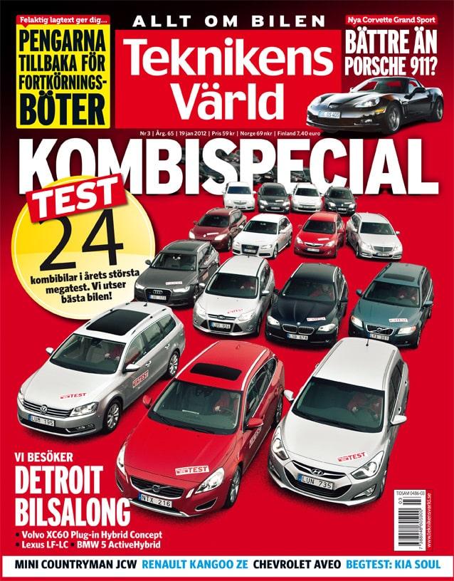 Teknikens Värld nummer 3 / 2012