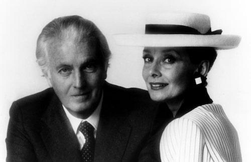 Audrey och Huberts vänskap varade en hel livstid.