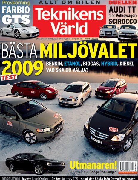 Teknikens Värld nummer 4 / 2009
