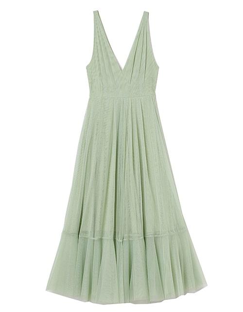 Festklänning i tyll från H&M.