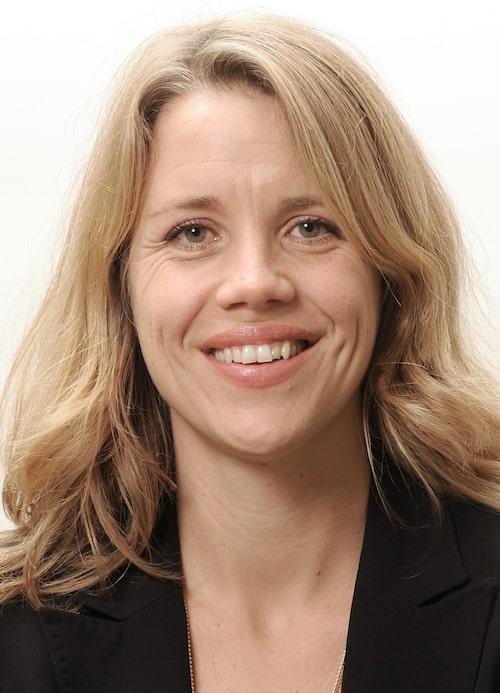 Mia Ahlberg är ordförande i Svenska Barnmorskeförbundet.