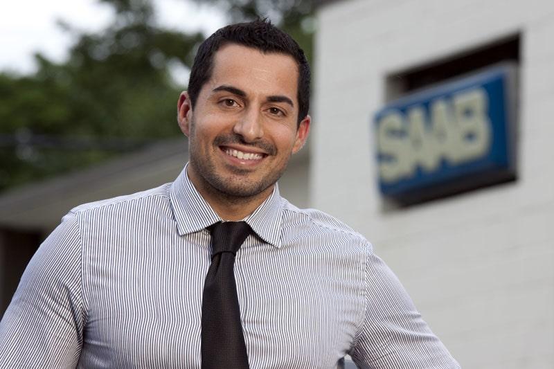 Jason Castriota, tidigare Pininfarina och Bertone, numera chefsdesigner på Saab.