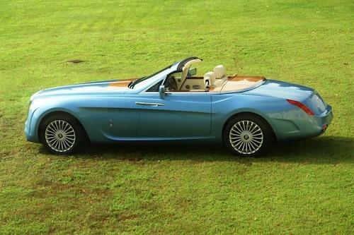 Rolls-Royce Hyperion, en one-off-bil som Jason Castriota var delaktig i vid formgivningen. Bilen såldes nyligen för närmare 50 miljoner kronor.