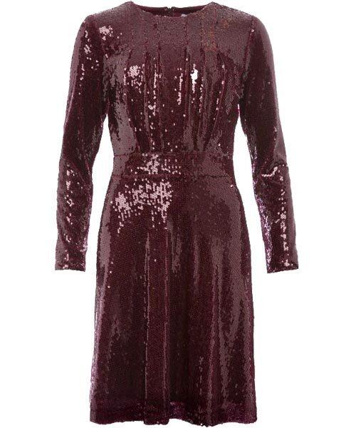 Elegant paljettklänning med markerad midja, 1495 kr, Daisy Grace