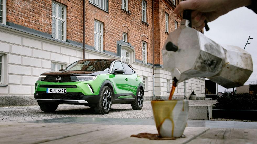 Mokka är en fattigmansvariant av espresso. Men Opel Mokka vill vara mer än så.