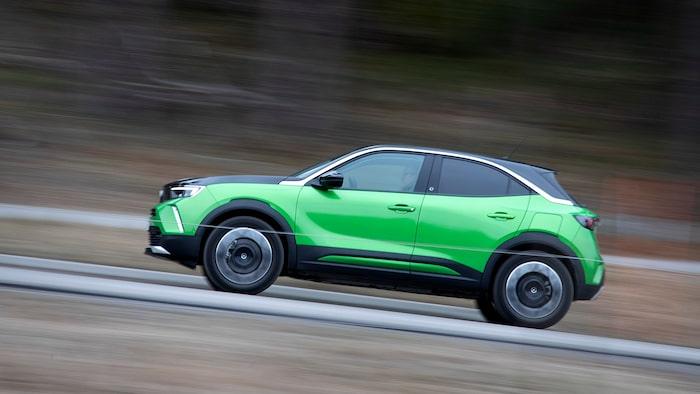 Tvåfärgad och fräck. Men kanske lite för fräck för Opel-kunden.