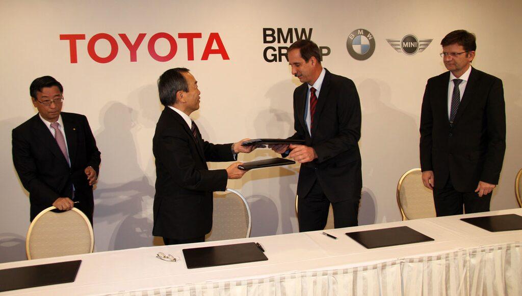 BMW och Toyota inleder samarbete