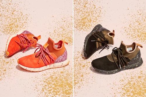 Abel lanseras i augusti och priset för ett par sneakers är 2150 kronor.