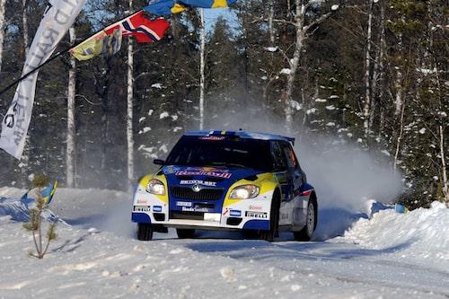 Patrik Sandell ligger fyra, 2 minuter och 45 sekunder bakom P-G Andersson.